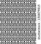 aztec and ethnic pattern | Shutterstock .eps vector #150879815
