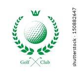 golf label | Shutterstock .eps vector #150882647