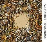 cartoon cute doodles hand drawn ... | Shutterstock . vector #1508919797