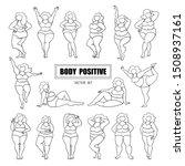 vector set of female... | Shutterstock .eps vector #1508937161