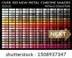 metal gradient. golden color... | Shutterstock .eps vector #1508937347