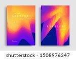 fluid gradient modern poster...   Shutterstock .eps vector #1508976347