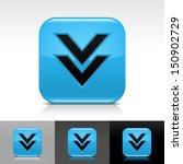 download arrow icon blue color...
