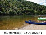Kayakers In The Delaware River...