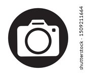 photographic camera isolated... | Shutterstock .eps vector #1509211664