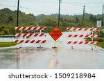 High Water Sign Blocking...
