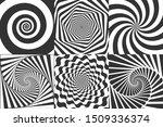 Hypnotic Spiral. Swirl...