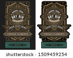 old  label design for liquor.... | Shutterstock .eps vector #1509459254