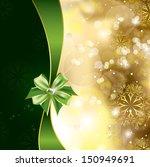 christmas background. vector... | Shutterstock .eps vector #150949691