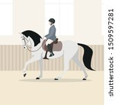 vector flat illustration of... | Shutterstock .eps vector #1509597281