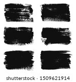 grunge paint lines. set of...   Shutterstock .eps vector #1509621914