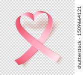 symbol of world breast cancer... | Shutterstock .eps vector #1509664121