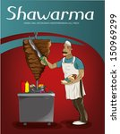 Shawarma Chef (Vector)