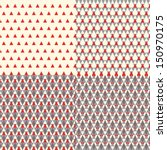 set of geometric patterns | Shutterstock .eps vector #150970175