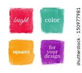 beautiful watercolor design...   Shutterstock .eps vector #150977981