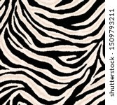 Abstract Seamless Zebra Skin...