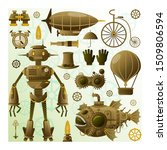 Steampunk Character And...