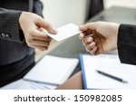 Exchange Business Card For...