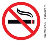 no smoking sign  vector... | Shutterstock .eps vector #150982571