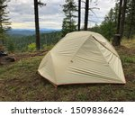 Camping With Tent In Coeur D...