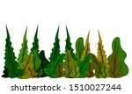 colorful of leaf isolated on...   Shutterstock .eps vector #1510027244