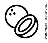 coconut outline icon  line... | Shutterstock .eps vector #1510049207