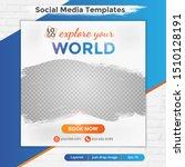 abstract social media design... | Shutterstock .eps vector #1510128191