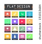 special flat ui icons for web...