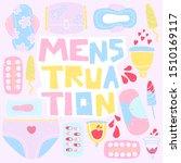 menstruation vector...   Shutterstock .eps vector #1510169117