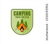 camping travellers club vector...   Shutterstock .eps vector #1510192901