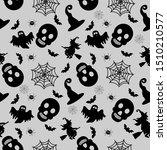 abstract seamless halloween... | Shutterstock .eps vector #1510210577