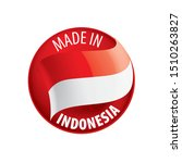 indonesia flag  vector... | Shutterstock .eps vector #1510263827