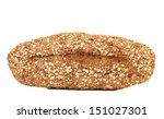 multi - grain brown bread - stock photo