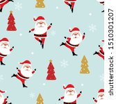 merry christmas and happy new... | Shutterstock .eps vector #1510301207