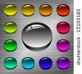 vector set of web buttons | Shutterstock .eps vector #15103183
