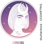illustration of capricorn... | Shutterstock .eps vector #1510497941