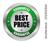 green round best price button | Shutterstock .eps vector #151051964