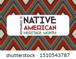 national native american... | Shutterstock .eps vector #1510543787