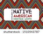 national native american... | Shutterstock .eps vector #1510543787