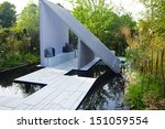 garden landscape | Shutterstock . vector #151059554