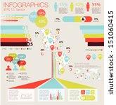 detail modern infographic... | Shutterstock .eps vector #151060415