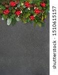christmas background border... | Shutterstock . vector #1510615157