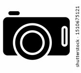 camera icon with glyph style.... | Shutterstock .eps vector #1510675121
