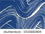 grunge texture. distress indigo ... | Shutterstock .eps vector #1510682804