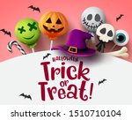 Halloween Trick Or Treat With...