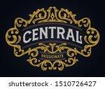 vintage badge victorian...   Shutterstock .eps vector #1510726427