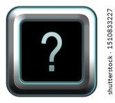 metallic alphabet letter icon... | Shutterstock . vector #1510833227