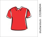 polo shirt | Shutterstock .eps vector #151086044