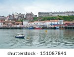 A View Over Whitby Town And...