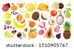set of colorful hand draw... | Shutterstock .eps vector #1510905767